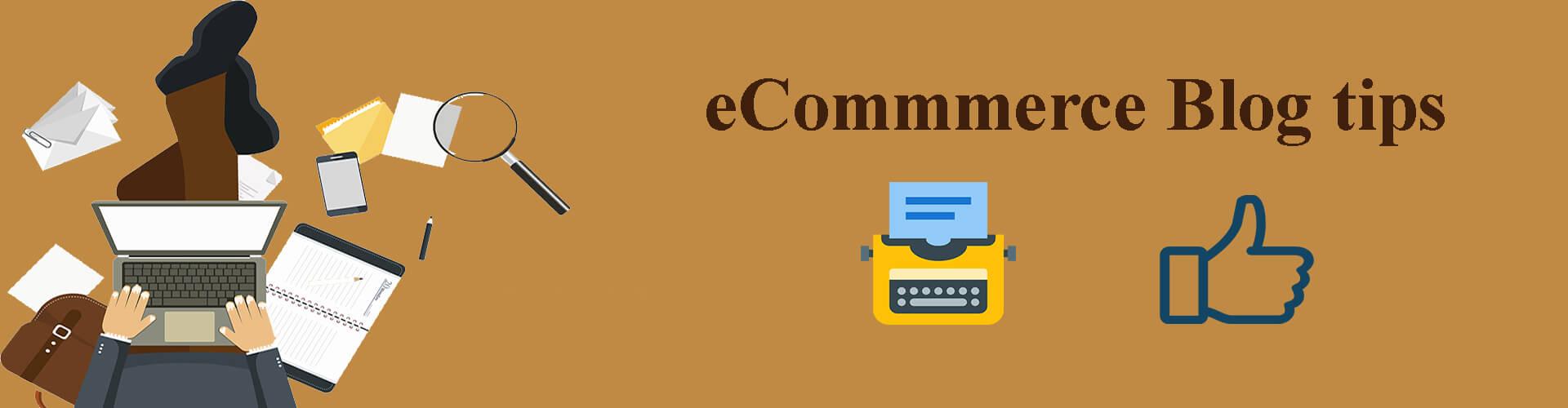 blog for eCommerce tips